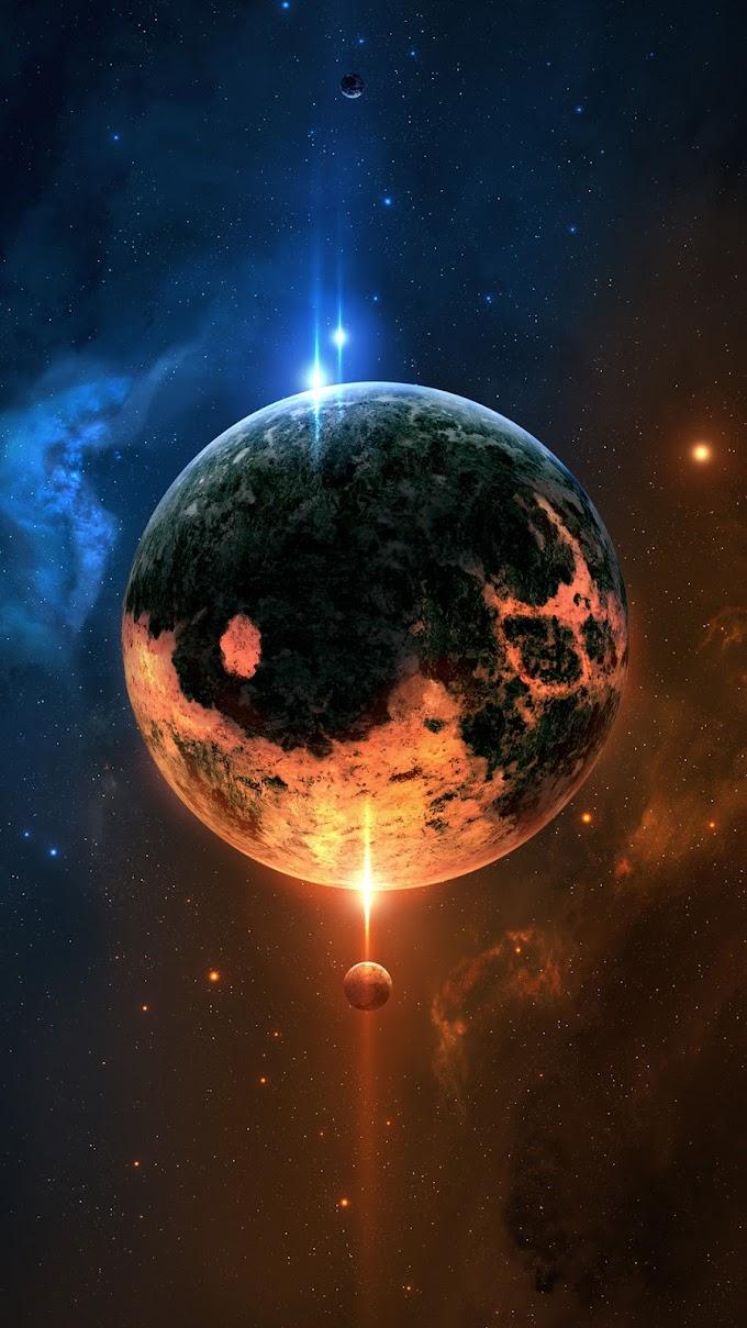 Wallpaper iPhone 8 Plus Planetas