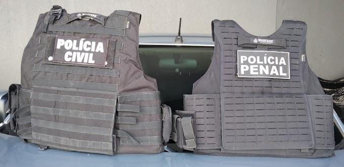 Laranjeiras do Sul: Polícia Civil (GDE) com apoio da Polícia Penal prendem foragido da Justiça Federal