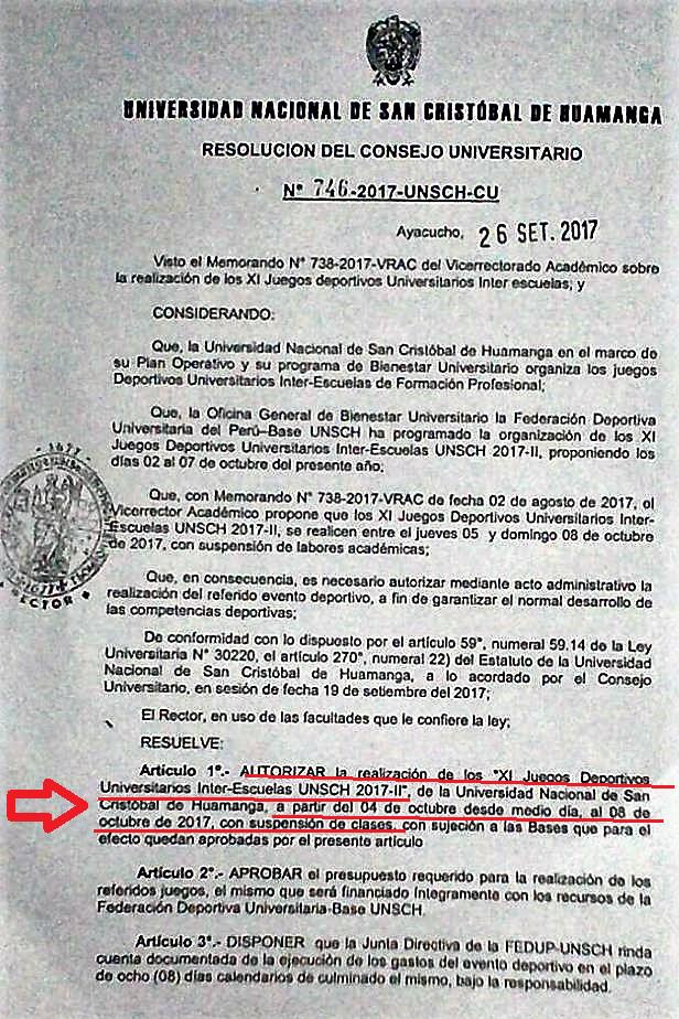 Quehacer Universitario Rcu Unsch Suspension De Clases Juegos