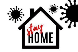 di rumah saja untuk mengurangi penyebaran virus corona