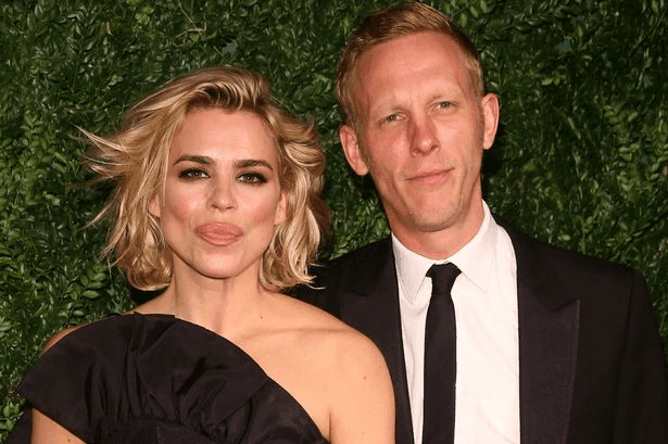 Billie Piper English Dancer Singer Actress With Her Husband Laurence HD Wallpaper Photo Images
