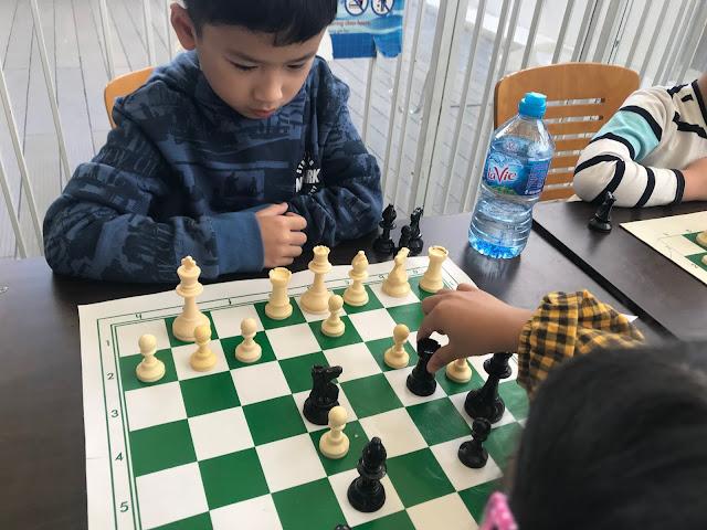 Giải cờ vua thiếu nhi