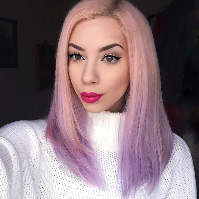 Pink to purple ombre with live leanne lim walker pink to purple ombre with live solutioingenieria Images