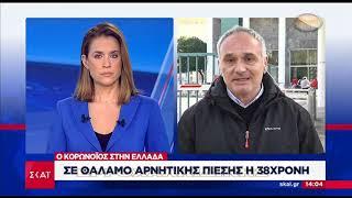 Στη Θεσσαλονίκη το πρώτο κρούσμα στην Ελλάδα – Στο ΑΧΕΠΑ με ήπια συμπτώματα (βίντεο)
