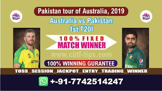 Who will win Today 1st T20, Match Aus vs Pak , Cricket Win Tips