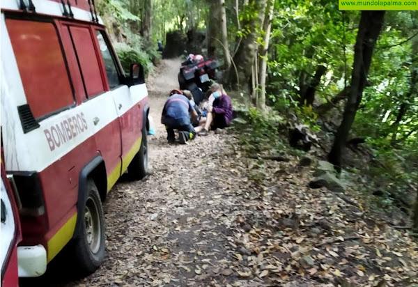 Dos senderistas rescatados esta tarde por los Bomberos en San Andrés y Sauces