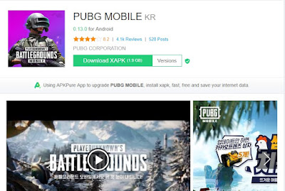 How to Install PUBG Mobile KR/JP apkpure xapk