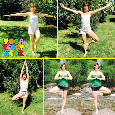 Tree pose, Vrksasana, yoga, yoga ed