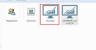 tampilan large icon pada windows explorer
