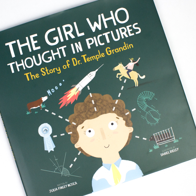How Does Your Brain Work- Easy Art Activity Inspired by The Girl Who Thought In Pictures:  Temple Grandin