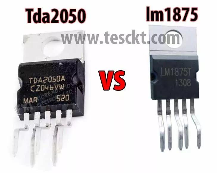 Tda2050 vs lm1875
