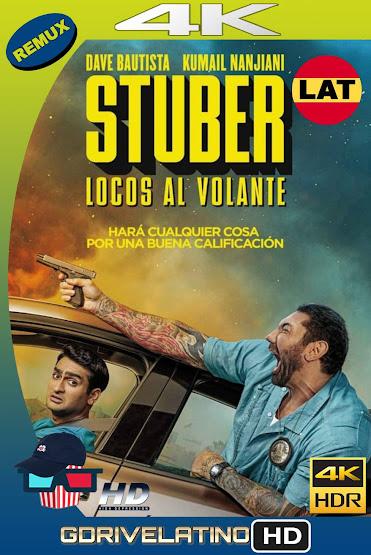 Stuber (2019) BDRemux 4K HDR Latino-Ingles MKV