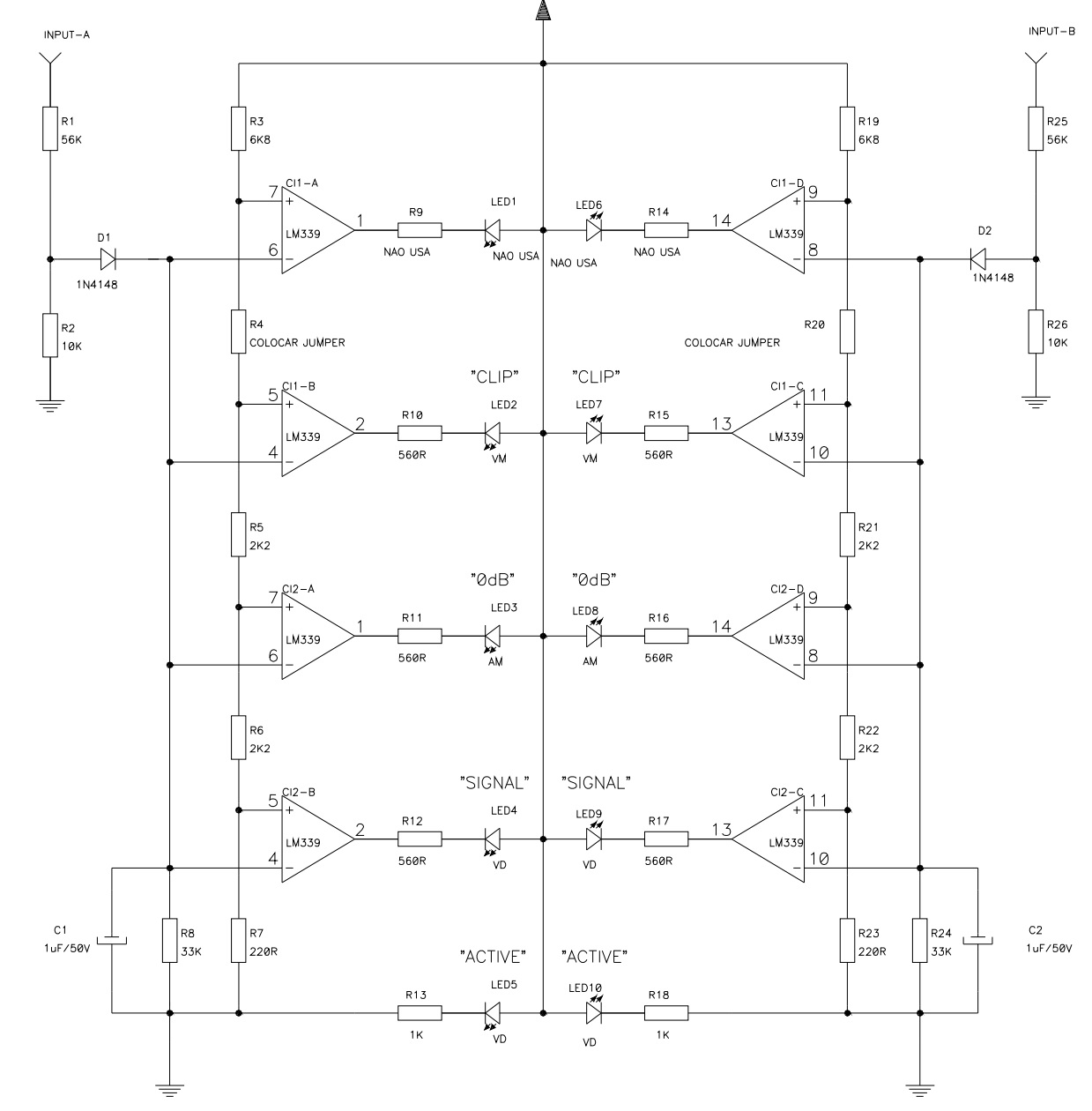Basic Power Amplifier Ic Lm12 Circuit Schematic Diagram Wiring