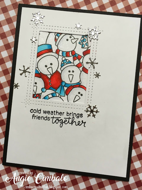 Cold weather by Angie C. features Frozen Fellowship and Fireside Friends by Newton's Nook Designs; #newtonsnook