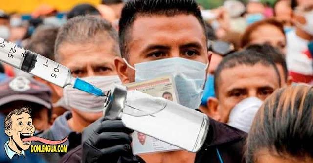 Venezolanos serán vacunados masivamente contra el Virus Chino en el año 2023