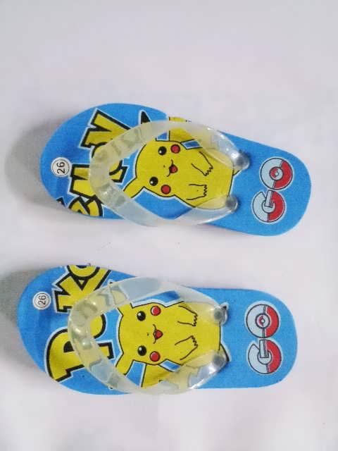 Grosir Sandal Karakter Pokemon Anak