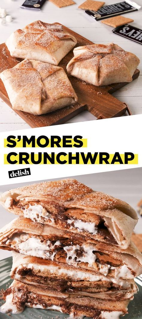 S'mores Crunchwrap #recipes #dessertrecipes #easyrecipes #easydessertrecipes #food #foodporn #healthy #yummy #instafood #foodie #delicious #dinner #breakfast #dessert #lunch #vegan #cake #eatclean #homemade #diet #healthyfood #cleaneating #foodstagram
