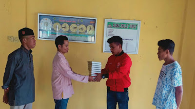 Bantu Mesjid, PSI Kab. Muna Gelar Wakaf Al Qur'an di Desa Liabalano