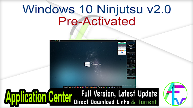 Windows 10 Ninjutsu v2.0 Pre-Activated