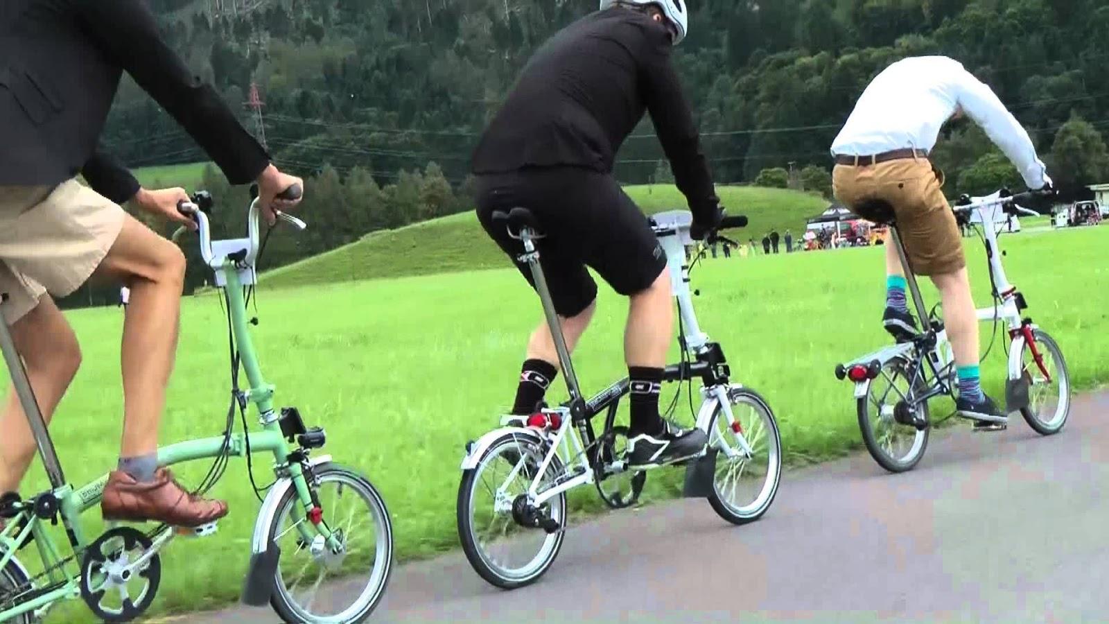 Mengenal Sepeda Brompton dan Tipe-Tipe Yang paling diburu