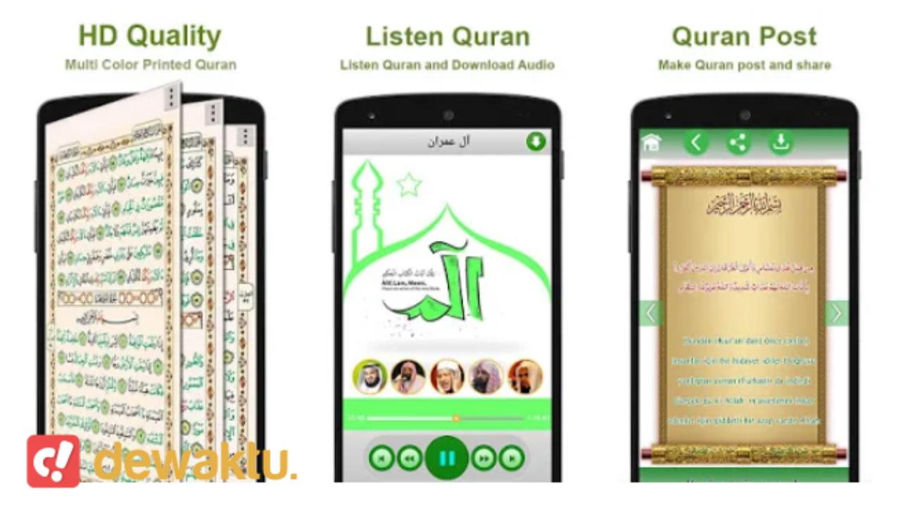 aplikasi al quran audio per ayat