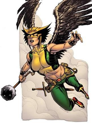 Hawkgirl superheroína de DC