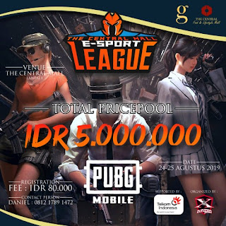 The Central Mall E-Sport League PUBG MOBILE