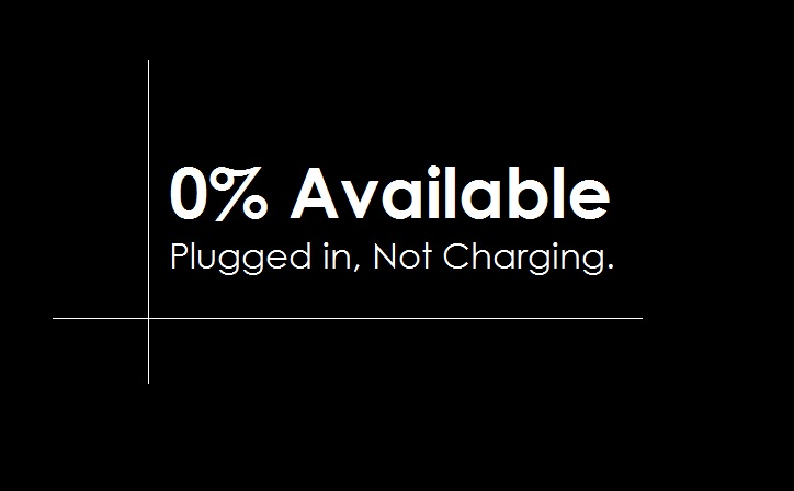Cara Mengatasi Baterai Tetap 0 Nol Persen Available Plugged In
