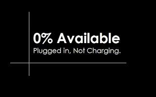 "Cara Mengatasi Baterai Tetap 0% (Nol Persen) Available ""Plugged in, Not Charging"""