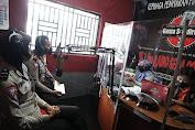 Dialog Interaktif di Radio, Satlantas Polres Purbalingga Sosialisasi Operasi Patuh 2021