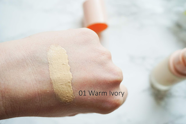 [Review] Holika Holika - Hard Cover Glow Foundation 01 Warm Ivory