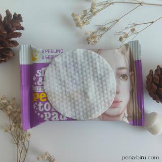 Review Ariul  Smooth & Pure Peeling Toner Pad