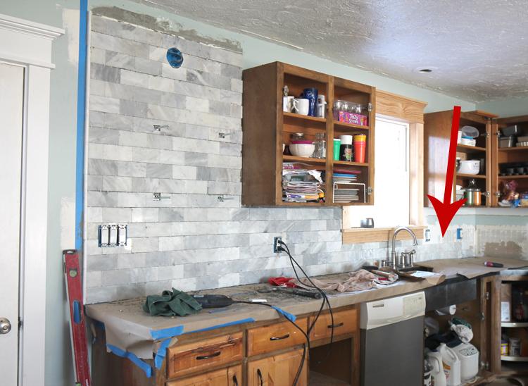 The Craft Patch DIY Marble Subway Tile Backsplash Tips Tricks