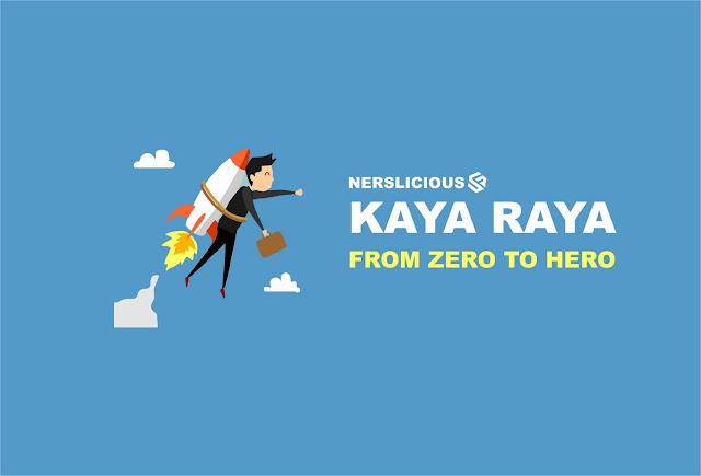 Kaya Raya : From Zero to Hero Hanya Dari 1 Artikel Blog
