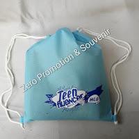 Souvenir Tas Ransel Serut Custom  Susu Hilo Teen Peninggi Badan