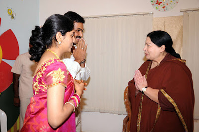 Jayalalitha at Karthi wedding reception