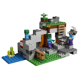 Minecraft The Zombie Cave Lego Set