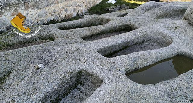 Tumbas en la necropolis de Sieteiglesias - Lozoyuela