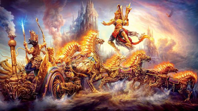 Perang Baratayudha (Versi Jawa)