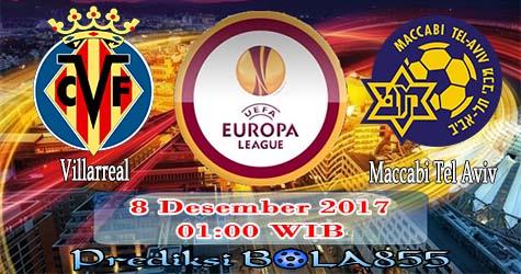 Prediksi Bola855 Villarreal vs Maccabi Tel Aviv 8 Desember 2017