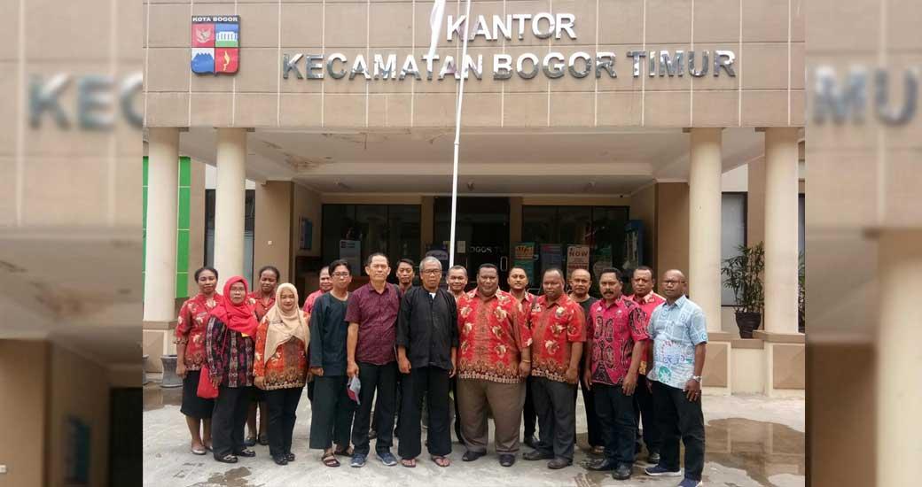 Dua Distrik Kota Jayapura Studi Tiru Paten Di Bogor Dharapos Papua
