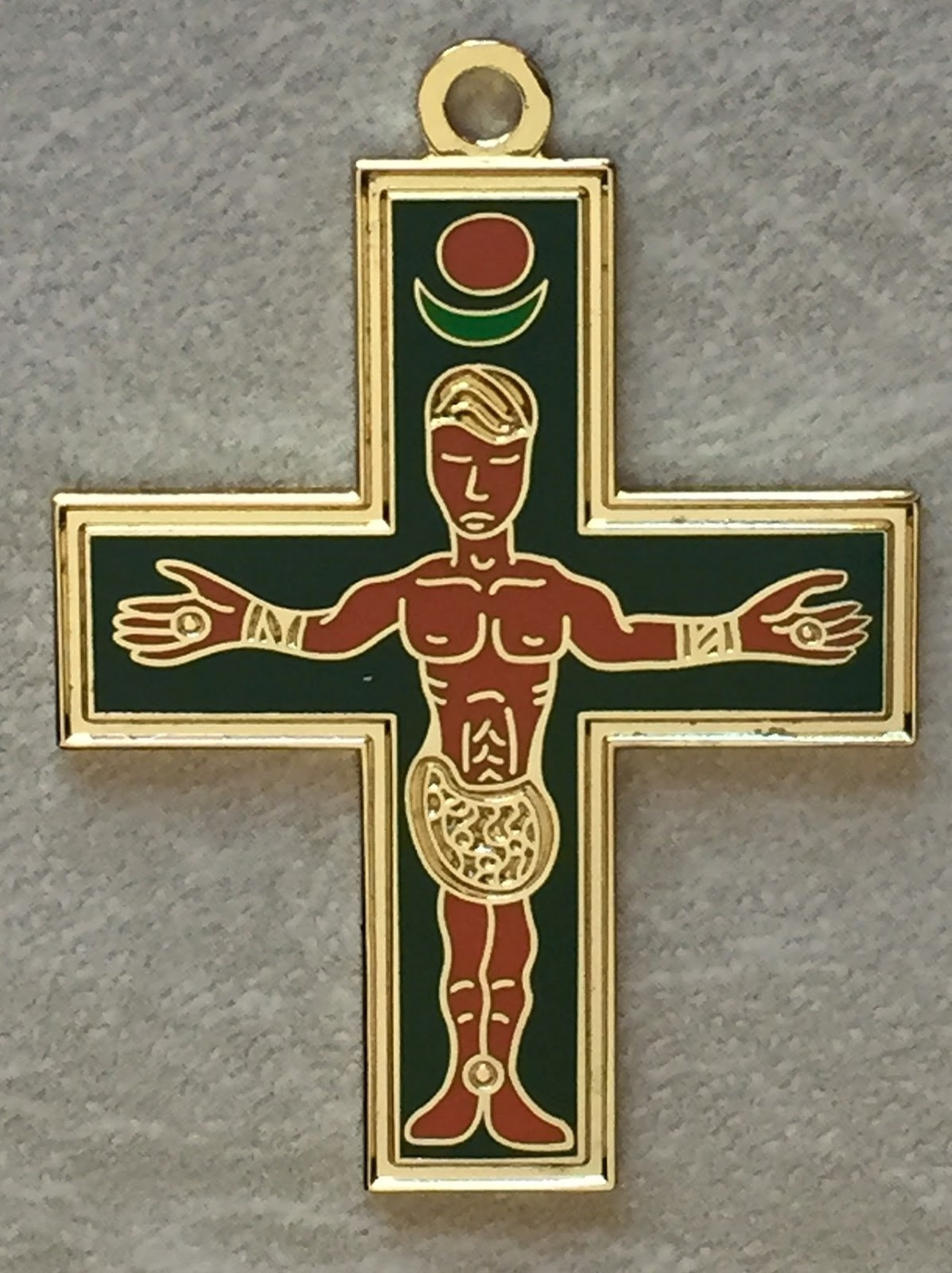 The cross of the Saint Cyril and the Saint Methodius