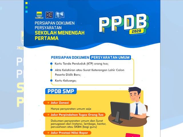 Dokumen yang Harus Dipersiapkan Saat Mendaftar TK, SD, dan SMP di PPDB Kota Bandung 2020