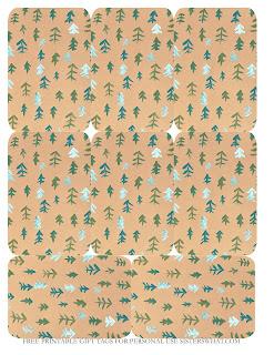 printable christmas tree gift tags