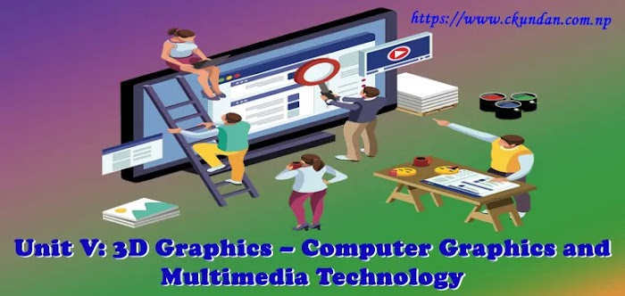 Unit V: 3D Graphics – Computer Graphics and Multimedia Technology