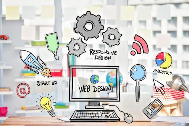 Web design and development company image