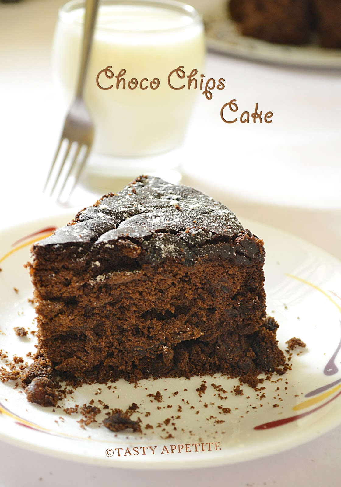 How To Make Eggless Chocolate Cake / Moist Chocolate Cake