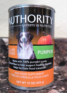 I finally found PURE canned pumpkin at PetSmart!