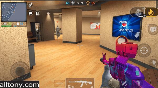 تحميل لعبة Modern Ops - Action Shooter Online FPS للأيفون والأندرويد XAPK 2021