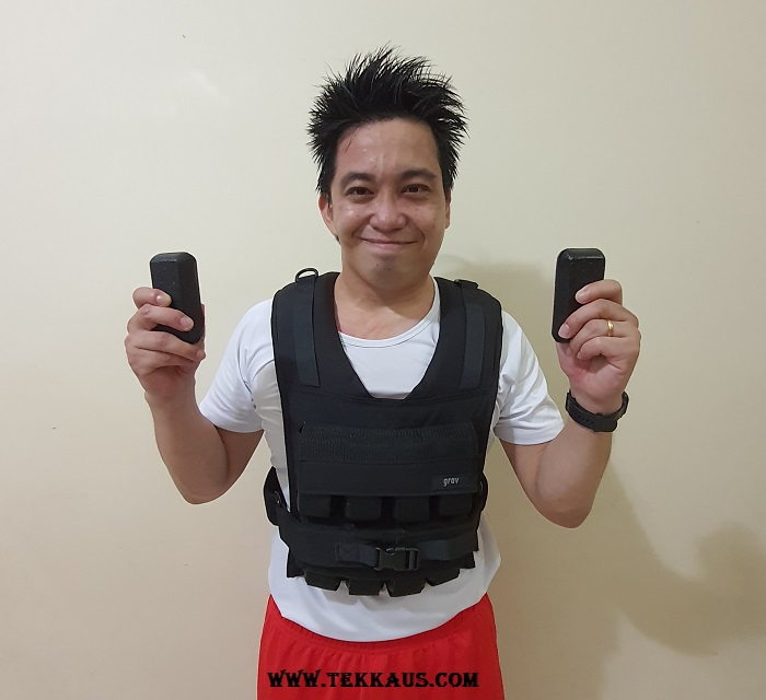 GravGear Adjustable Weighted Vest Lifetime Warranty